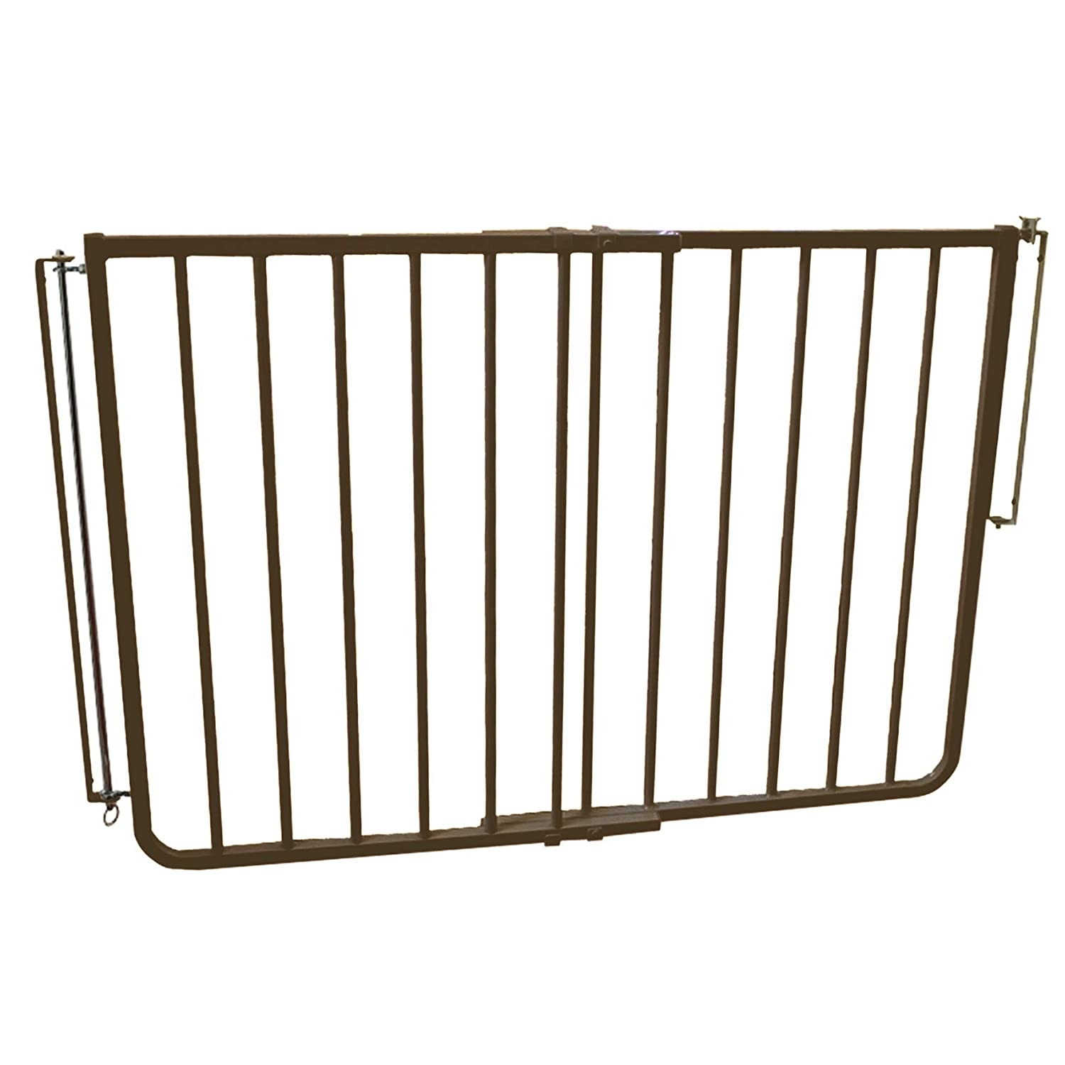 Stairway Special Baby Pet Gate for Outdoors Colors Brown