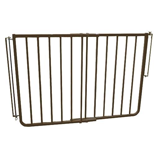 Cardinal Gates Outdoor Child Safety Gate, Brown