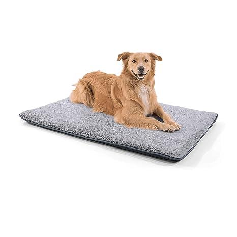 Homeoutfit24 Malu Alfombrilla para perro, lavable, higiénica y antideslizante, manta suave