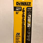 DeWalt DW1305 5//64 pouces Titane Split Point Twist Drill Bit