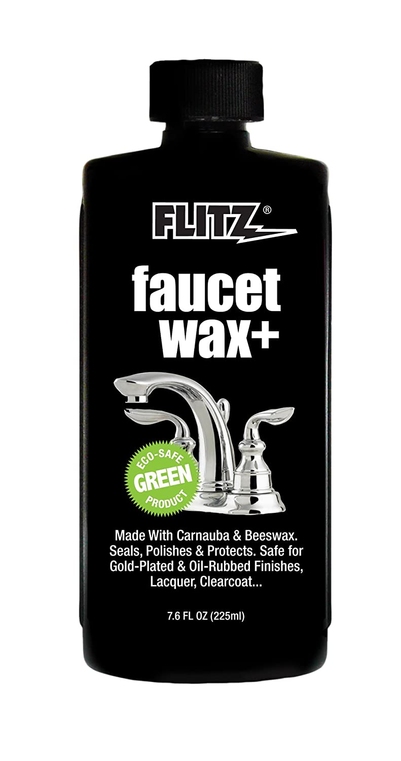 Amazon.com: Flitz PW 02685 Off White Faucet Waxx Plus, 7.6 oz ...