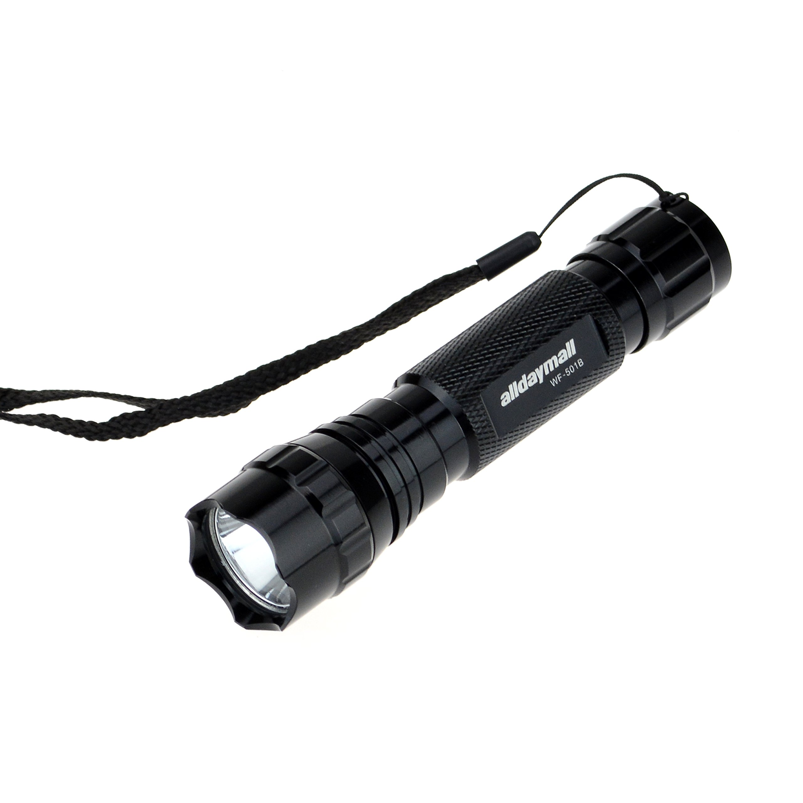 Alldaymall F-023 Wf-501B 395-410Nm UV-Ultraviolet LED Black Light Flashlight ...