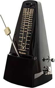 Mechanical Metronome for Piano, Guitar, Drums, Bass, Track Tempo and Beat, Pyramid Design, By Creatov (Original Version)