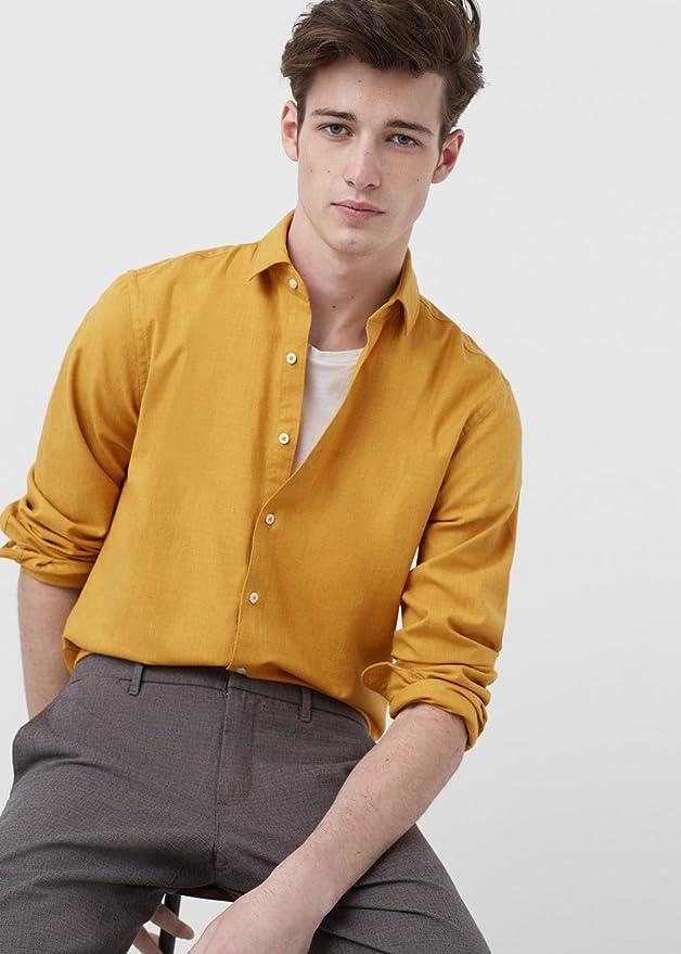 MANGO MAN - Camisa casual - para hombre Okker XL: Amazon.es: Ropa y accesorios