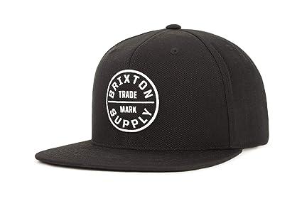Brixton Cap Oath 3 - Gorra de náutica, color negro, talla DE: One