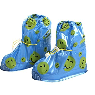 Kvbaby Shoes Cover Waterproof Rain Overshoes Slip-resistant Snow Shoes  Cover Reusable Rain Boot For