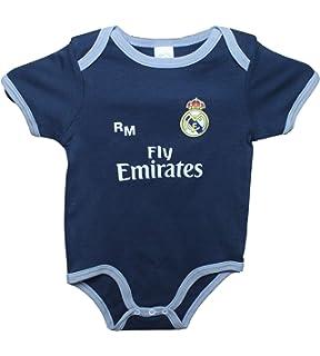JolinQ Recién Nacido Ropa Club de fútbol Real Madrid Basic ...