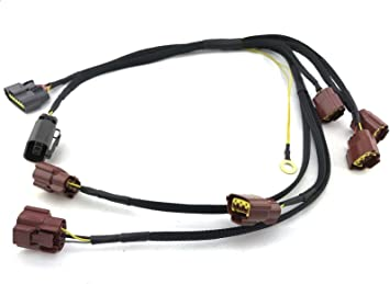 coil pack wire harness amazon com bnr32 wgnc34 ignition coil pack wire harness repair  bnr32 wgnc34 ignition coil pack