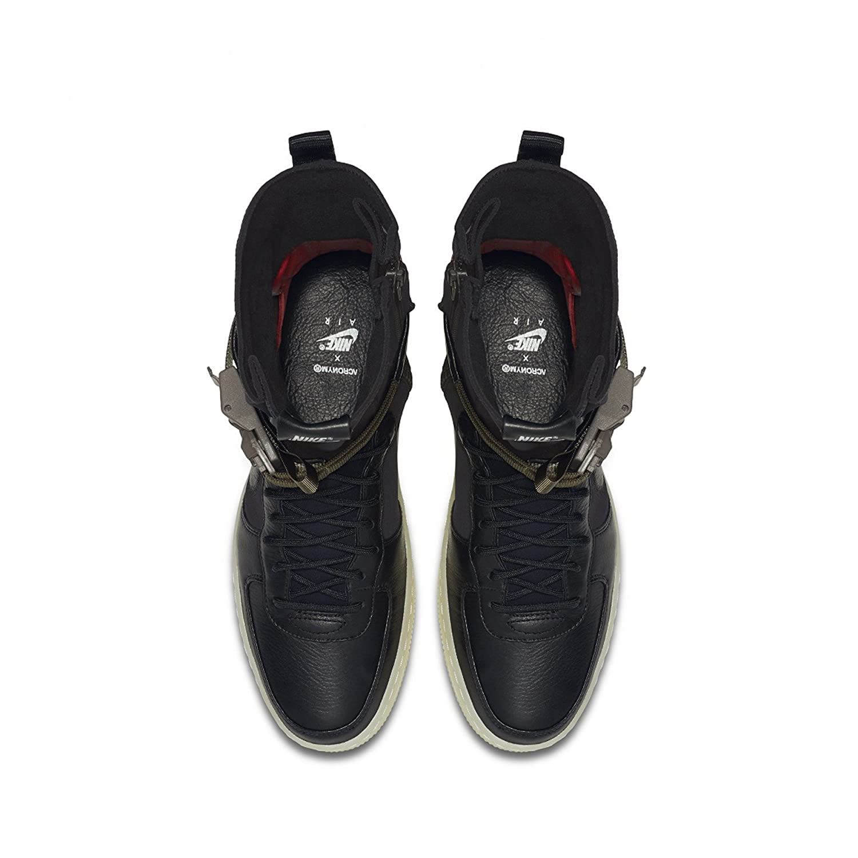 on sale 0ad45 62cbc Amazon.com  Nike AF1 Downtown HI SP Acronym Black AIR Force 1 NikeLab  649941 006 sz 10.5  Fashion Sneakers