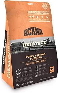 ACANA Heritage Puppy and Junior Formula 12 Ounces