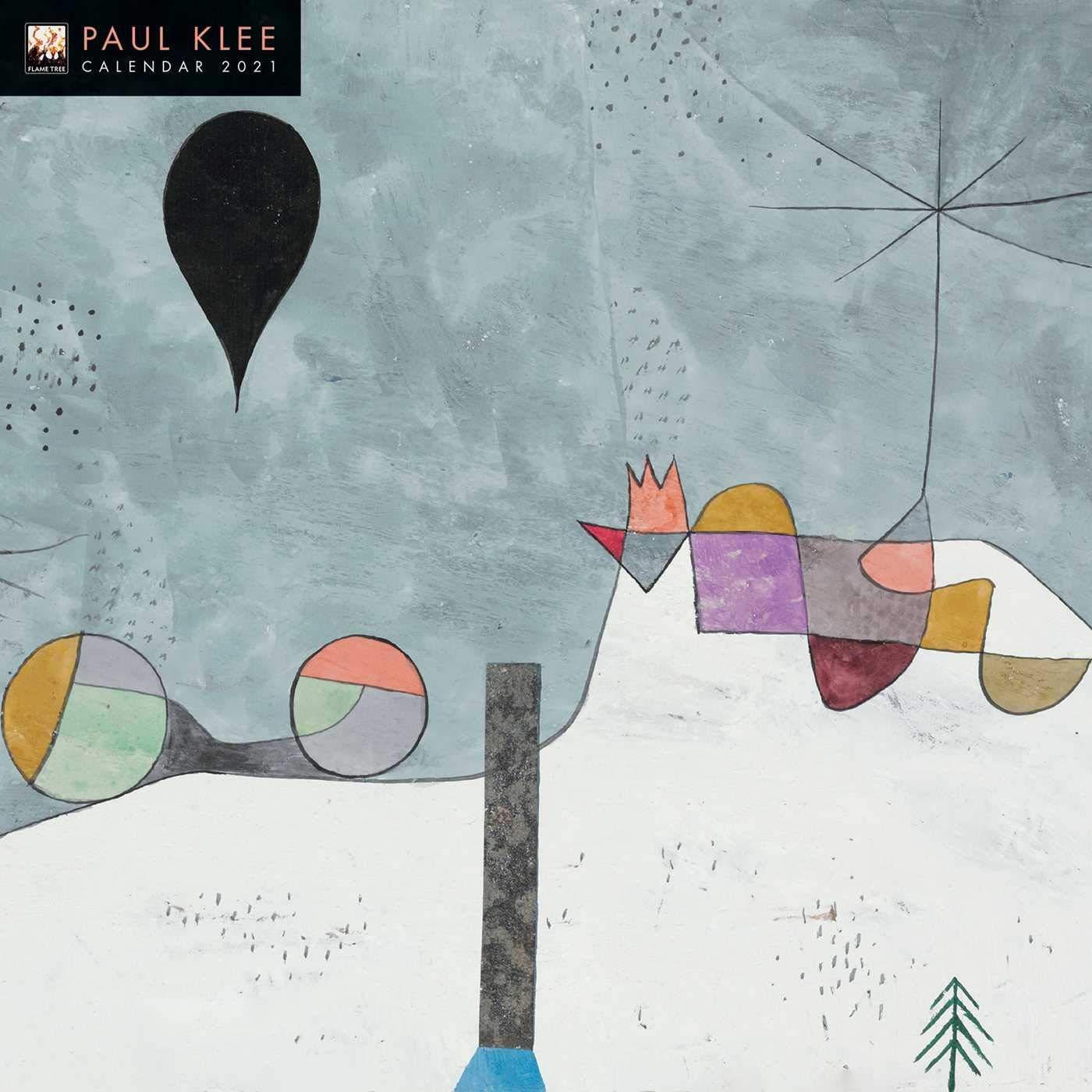 Paul Klee Wall Calendar 2021 (Art Calendar): Flame Tree Studio