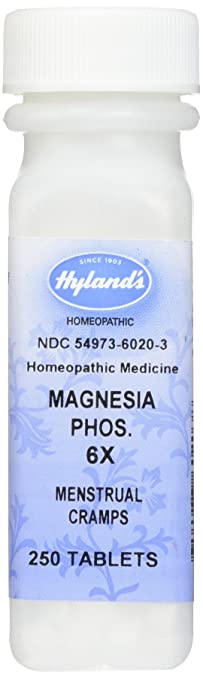 Hylands Magnesia Phosphorica 6X Tablets, Natural Relief of Muscle Cramps, Menstrual Cramps or Pain