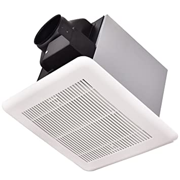 Costway ceiling mounted exhaust fan for home bathroom air costway ceiling mounted exhaust fan for home bathroom air ventilation white 100 cfm mozeypictures Choice Image