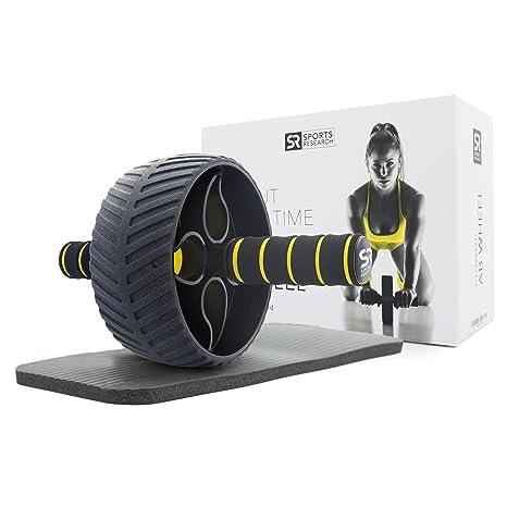 bb81112559 Amazon.com   Sports Research Ab Wheel (3