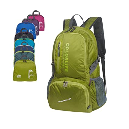28f6f8112210 CARQI Waterproof Backpack Large Ultralight Foldable Bag for Men and Women  Hiking 35L