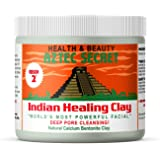 Aztec Secret - Indian Healing Clay - Deep Pore Cleansing Facial & Healing Body Mask - The Original 100% Natural Calcium Bentonite Clay - 1lb - 454g