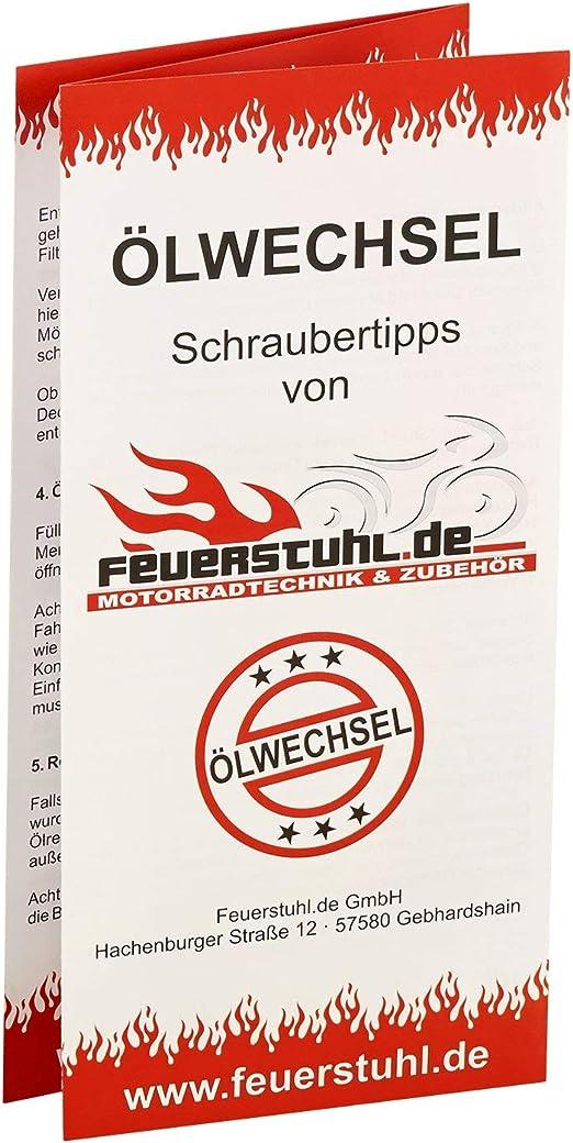 Motul 10w 40 Öl Mahle Ölfilter Für Kawasaki Klx 650 C 93 95 Lx650c Ölwechselset Inkl Motoröl Filter Dichtring Auto