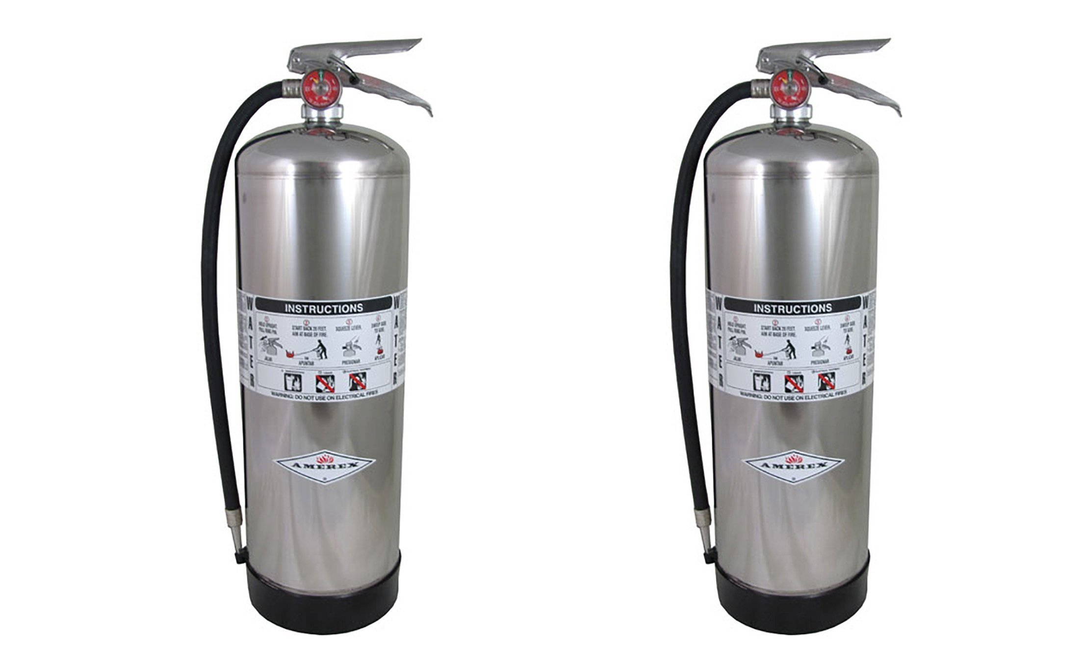 Amerex 240, 2.5 Gallon Water Class A Fire Extinguisher (2 PACK) by Amerex (Image #1)