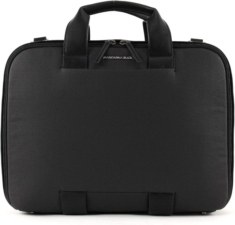 Mandarina Duck Mode Cartella Workbag Black