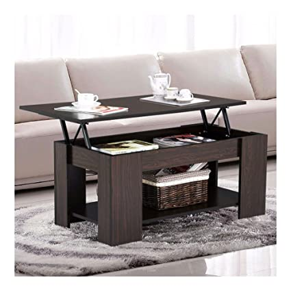 Swell Amazon Com Espresso Modern Wood Lift Top Coffee End Table Cjindustries Chair Design For Home Cjindustriesco