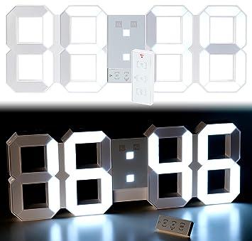 Schon Hochwertig Cadillaps Holz Tischuhr LED Wecker Digital Uhr Schlafzimmer Zeit  Kalender Temperatur Rechteck Uhren Erstaunlich Das Bild Wird Geladen Design  ...