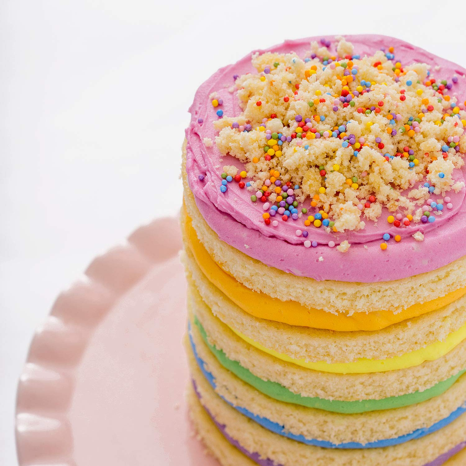 Miss Jones Baking 90% Organic Birthday Buttercream Frosting, Perfect for Icing and Decorating, Vegan-Friendly: Confetti Pop (Pack of 6) by Miss Jones Baking (Image #11)