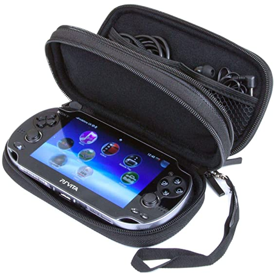 Double Compartment Carry Case For PS Vita: Amazon.es ...