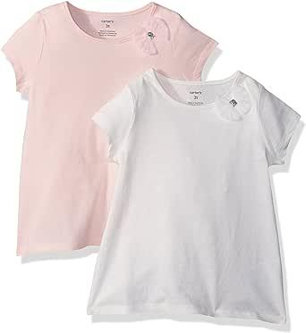 Carter's Girls' Toddler 2-Pack Bow Tees