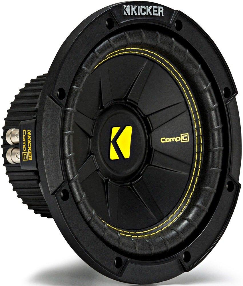 Kicker CWCD84 CompC 8 Subwoofer Dual Voice Coil 4-Ohm