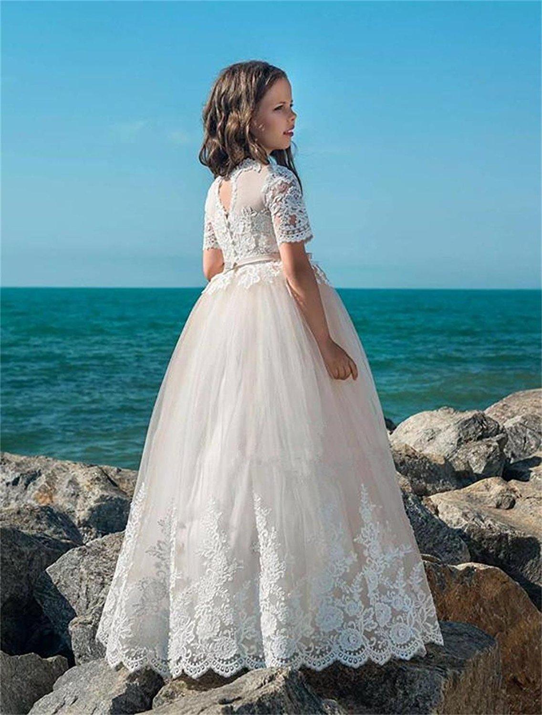 Magicdress Vestido de Color B06XZD493P Playa para Flores, Boda con ...