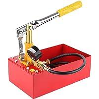 Fixkit - Bomba para prueba de presión, bomba para ensayo de 5 litros. Tubo de agua de sistema de calefacción, testador a…