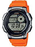 Casio Collection – Herren-Armbanduhr mit Digital-Display und Resin-Armband – AE-1000W