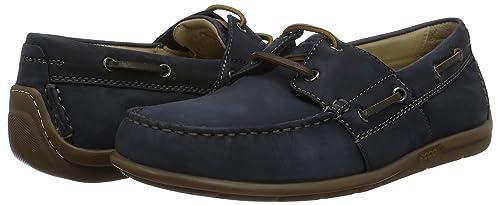 爱步 Ecco Moc 20 男士真皮船鞋