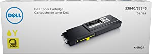 Dell XMHGR High Yield Yellow Toner Cartridge for S3840cdn, S3845cdn