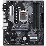 Asus Prime B365M-A LGA-1151 Support 9th/8th Gen Intel Processor with Aura Sync RGB Header, DDR4 2666MHz, M.2 Support…