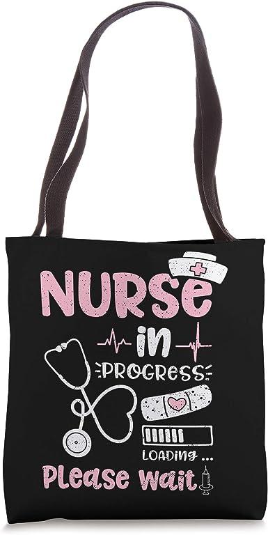 nurse appreciation tote bags for nurses tote bag for nurses Canvas nurse tote graduation nurse gift Nurse tote bag gift for nurse
