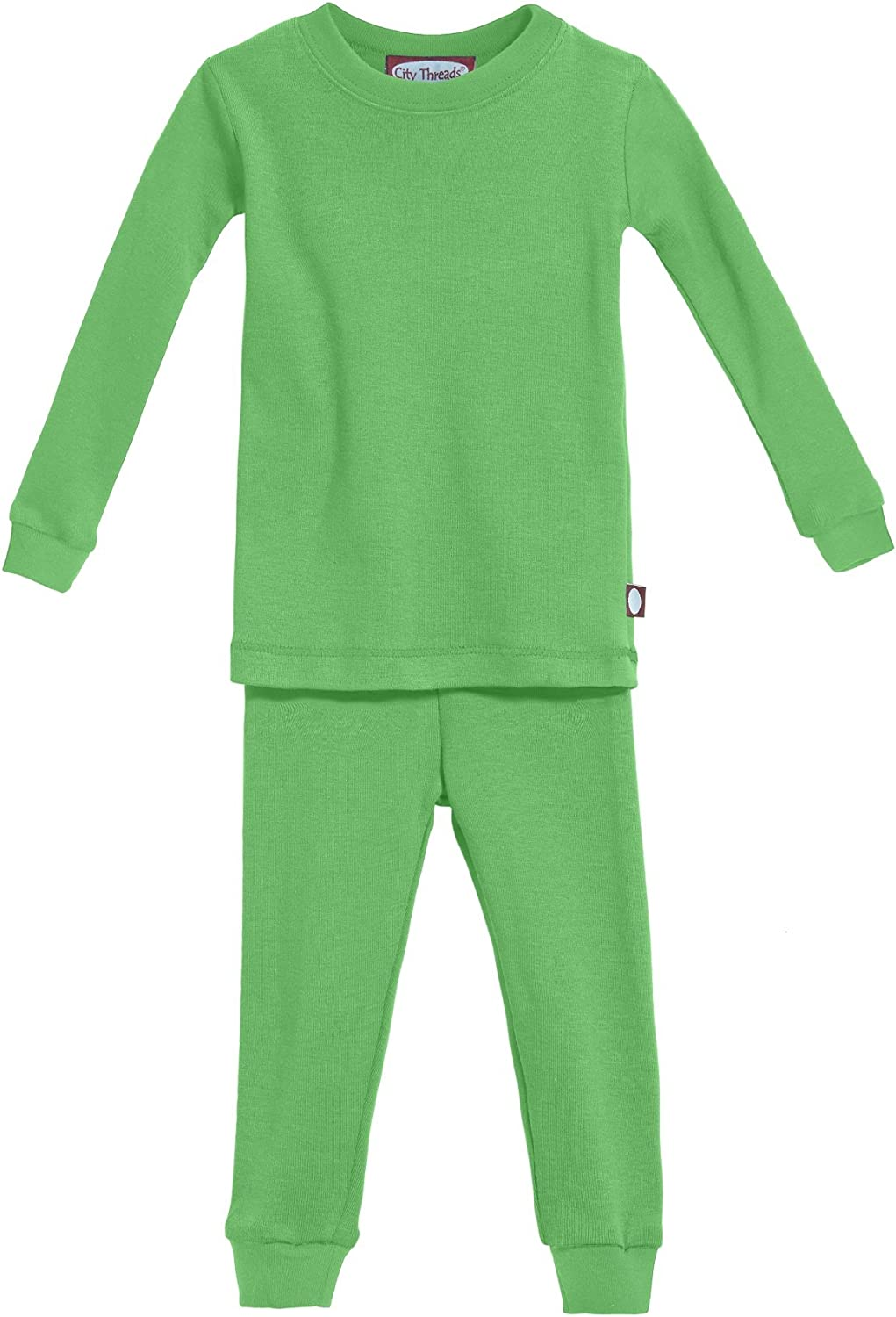 City Threads Boys' and Girls' Pajama Set PJs, Organic Cotton, Made in USA: Clothing