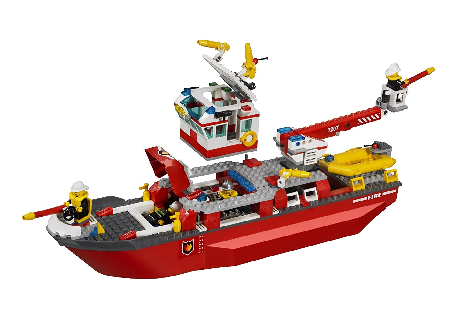 Lego City 7207 Fire Boat Amazon Toys Games