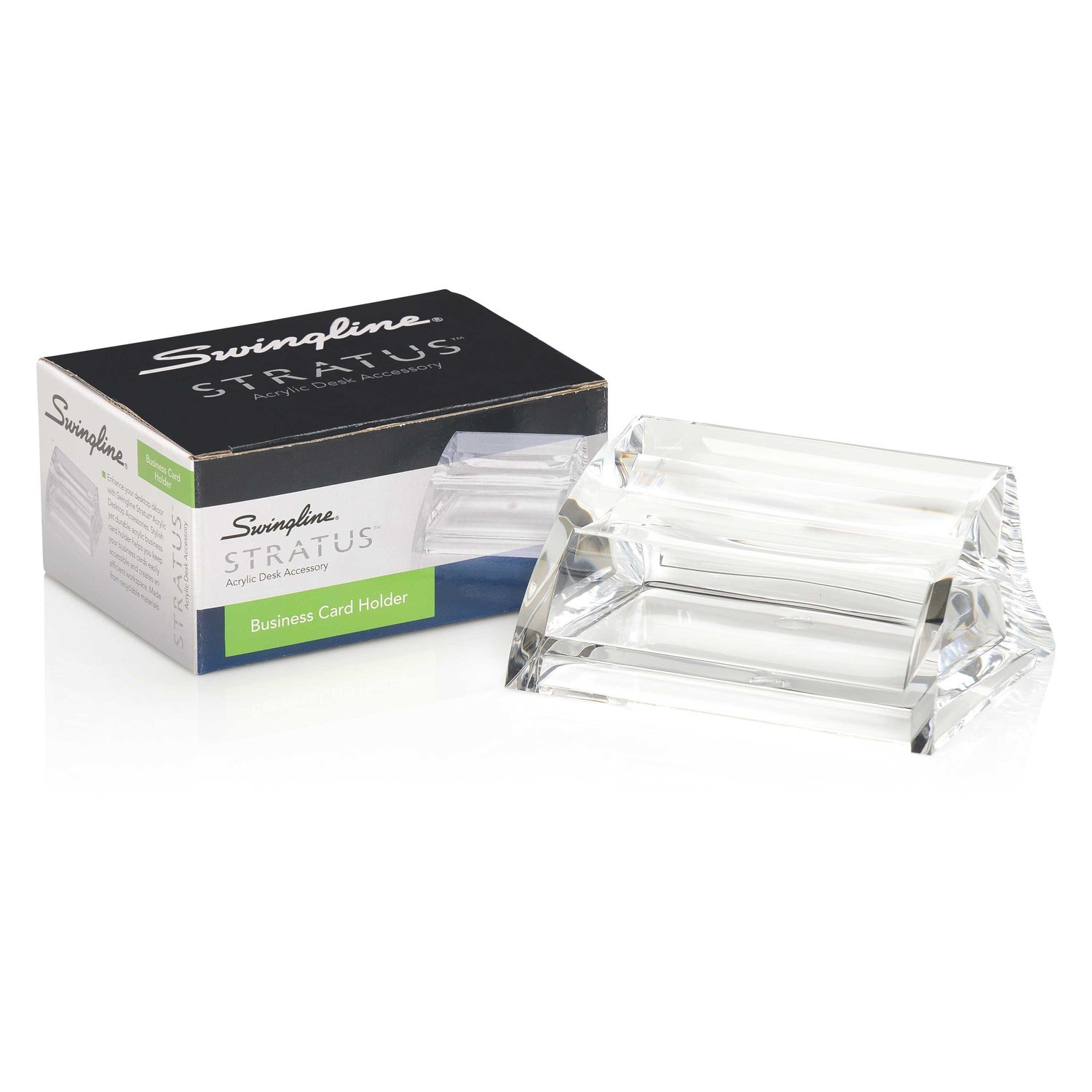Amazon.com : Business Card Holder by Swingline - Clear Acrylic ...