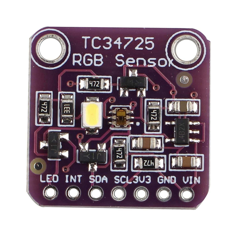 HALJIA TCS34725 Color Sensor RGB Color Sensor Light Recognition Development Board Module Compatible with Arduino