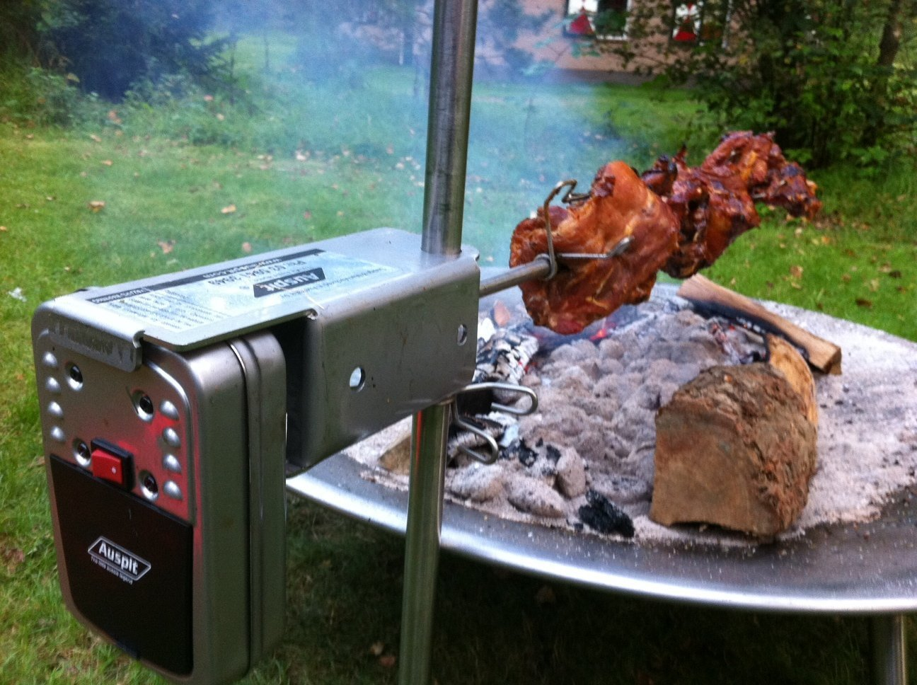 Auspit Stainless Steel Set (Best Rotisserie in the World!)
