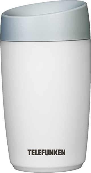 Opinión sobre Telefunken Mini Steam 0.23L 2W Gris, Color blanco - Humidificador (2 W, 75 mm, 75 mm, 175 mm, 75 x 75 x 175 mm, Gris, Blanco)