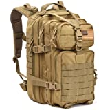 Military Tactical Assault Pack Backpack Army Molle Bug Out Bag Backpacks Small Rucksack for Outdoor Hiking Camping Trekking Hunting Tan