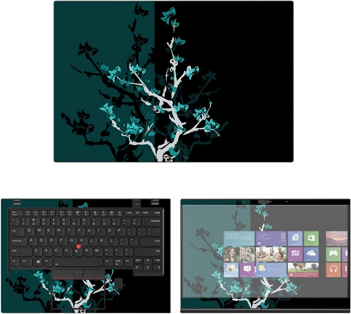 Decalrus - Protective Decal Skin Sticker for Lenovo ThinkPad X1 Carbon (6th Gen.) (14