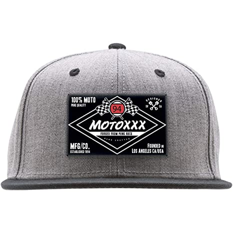 7f915bd9510 Image Unavailable. Image not available for. Color  Moto XXX Ninety Four Snapback  Hat ...