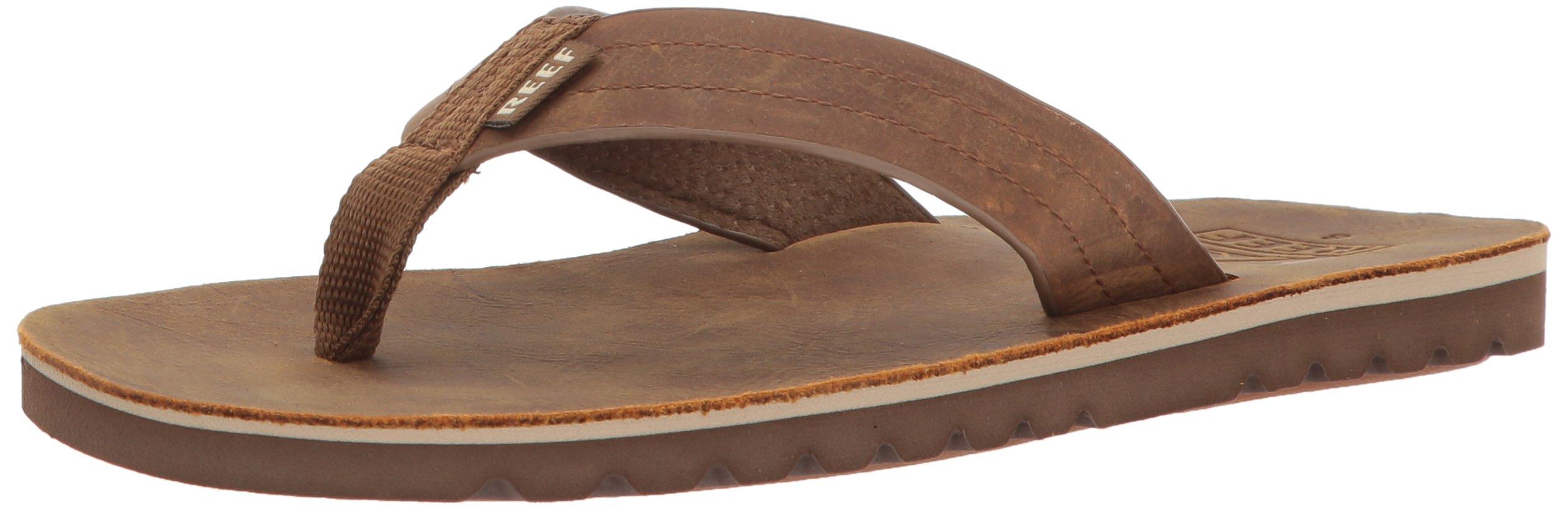 Reef Men's Voyage LE Sandal, Brown/Bronze, 10 M US