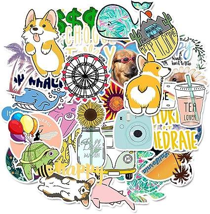 50x Kawaii Cat Sticker Animal Cartoon Stickers Gift for Kids DIY Laptop Luggage