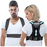 Posture Corrector for Women and Men, Adjustable Back Brace for Back Support and Neck Shoulder Brace Belt, Pain Relief and Imp