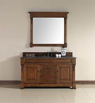 James Martin Brookfield 60 Single Bathroom Vanity In Oak Vanity