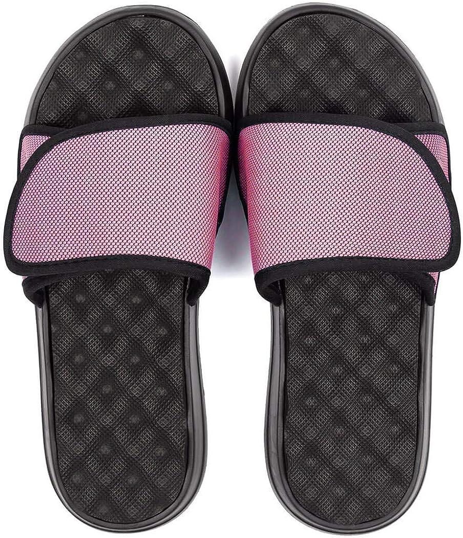 Various Colors /& Sizes PR Soles Adjustable Strap Massaging Recovery Slide Sandal
